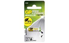 Alkalická speciální baterie GP 27A (blistr 1 kus)
