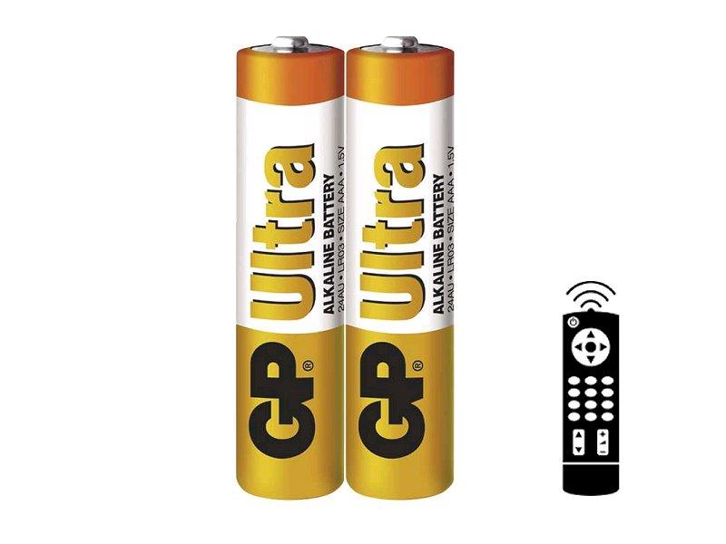 Baterie GP Ultra LR03 (AAA) 2 kusy