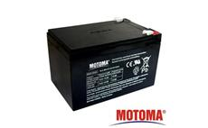 Baterie olověná 12V / 12Ah MOTOMA bezúdržbový akumulátor