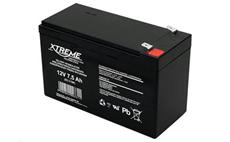 Baterie olověná 12V / 7,5Ah XTREME bezúdržbový gelový akumulátor
