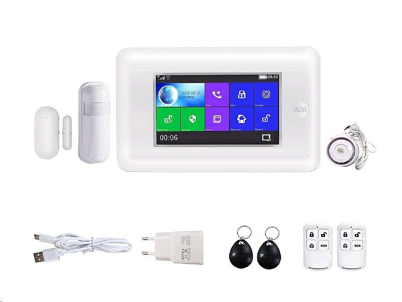 Bezdrátový domovní GSM alarm s Wi-Fi HG-430-EN