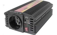 Carspa CAR300U 12V/230V 300W USB (mod. sin.)