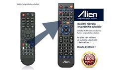 Dálkový ovladač ALIEN Globo Opticum T90 HD - náhrada