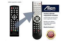 Dálkový ovladač ALIEN STB ALMA 2880 mini náhrada