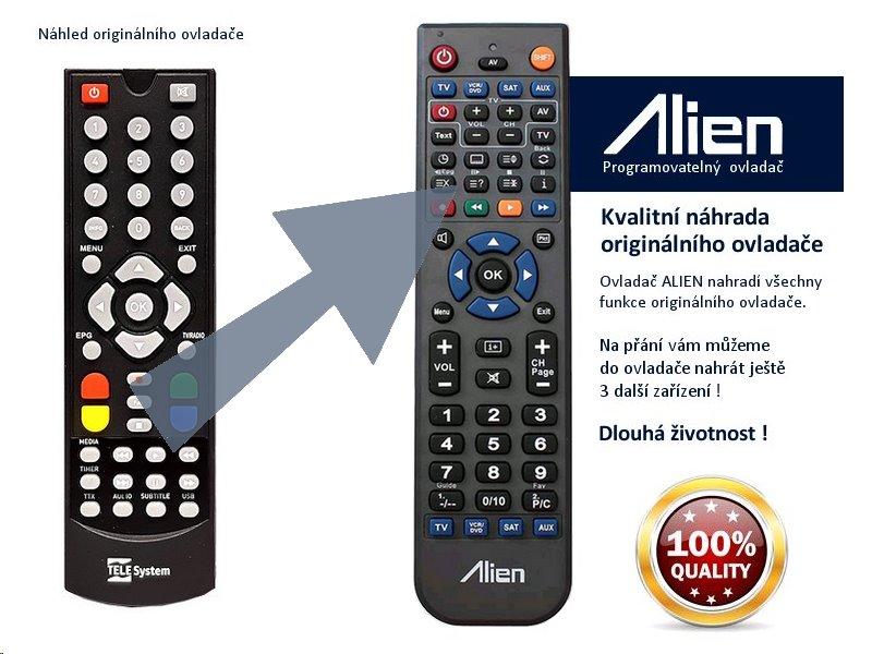 Dálkový ovladač ALIEN TeleSystem WINBOX DT2000