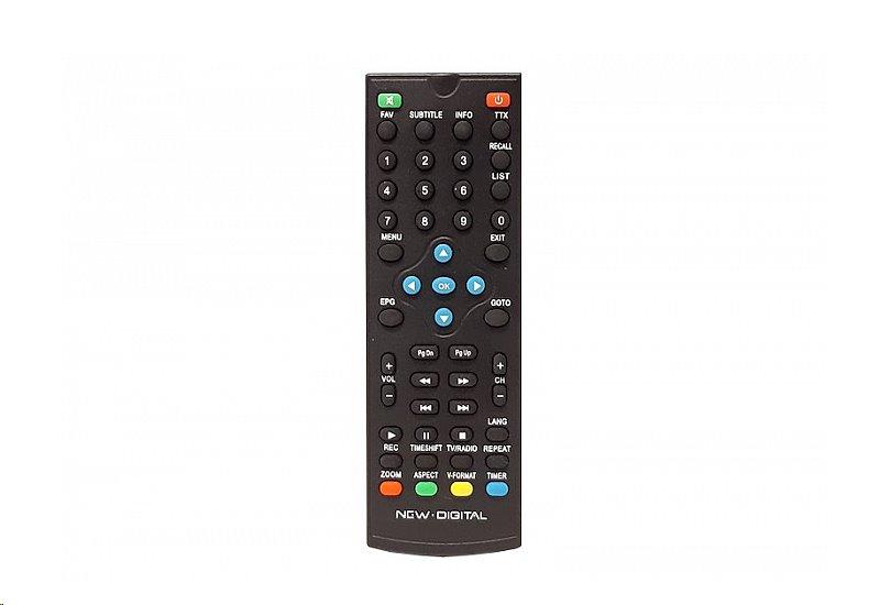 Dálkový ovladač New Digital T2 265 HD