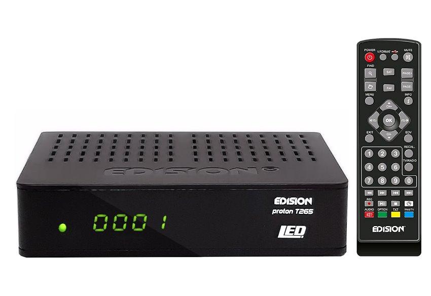 EDISION PROTON T265 LED DVB-T2/C