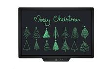 Elektronický LCD psací tablet 20' černý