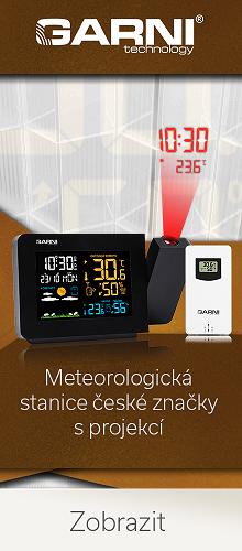 Meteostanice GARNI 439 Line s projekcí času