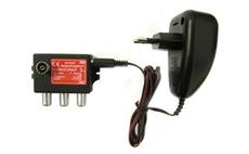 Ivo I030RA IEC aktivní rozbočovač na 3 TV se zdrojem 12V