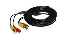 Kabel koaxiální s BNC + napájení 15 metrů
