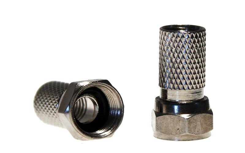 Konektor F 6,8 mm s gumovým těsněním
