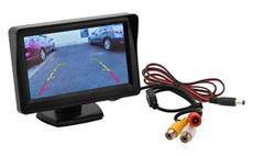 LCD display se stojánkem pro parkovací kameru