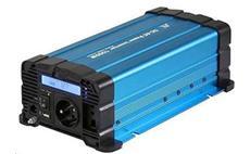 Měnič napětí Solarvertech FS1000 12V/230V 1000W + USB, čistá sinusovka