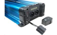 Měnič napětí Solarvertech FS4000 12V/230V 4000W + USB, dálkové ovládání, čistá sinusovka