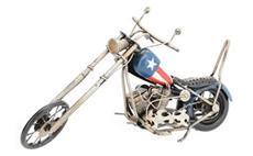 Model motocyklu CHOPPER (dekorace)