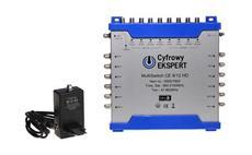 Multipřepínač Technisat 9/12 HD Cyfrowy Ekspert - SLEVA NA ROZBALENÝ KUS