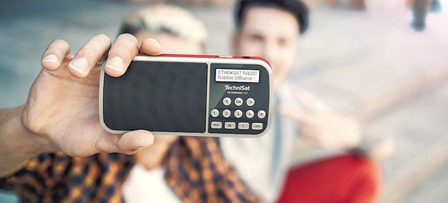 Přenosné DAB+ rádio Technisat RDR na baterie