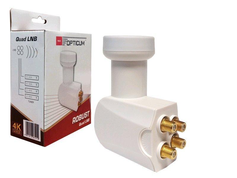 Opticum Robust Quad LNB 0,1 dB