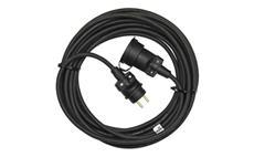 Prodlužovací kabel gumový spojka 30m 3x 1,5mm IP65