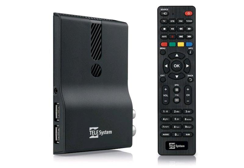 TeleSystem TS 6810 Stealth DVB-T2 H.265 HEVC přijímač
