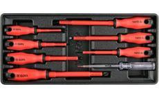 Vložka do zásuvky - sada šroubováků elektrikářských, 1000V, 8ks