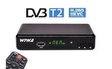 WIWA H.265 DVB-T2 set top box - SLEVA NA ROZBALENÝ KUS