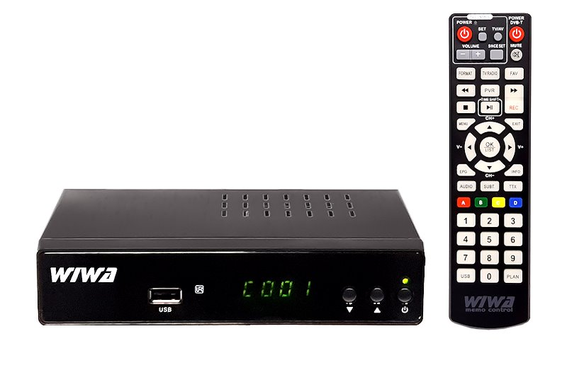WIWA H.265 MAXX DVB-T2 set top box - SLEVA NA ROZBALENÝ KUS