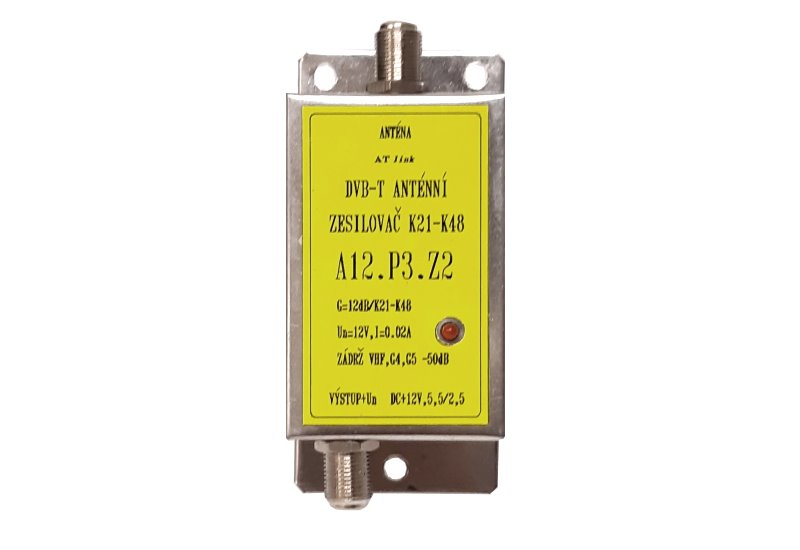 Zesilovač ATOS A12.P3.Z2 12dB 12V K21-48 LTE700