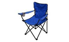 Židle kempingová skládací Cattara BARI modrá